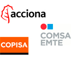 Logo Acciona Comsa Copisa